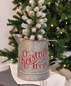 Picture of 'O Christmas Tree Metal Pitcher