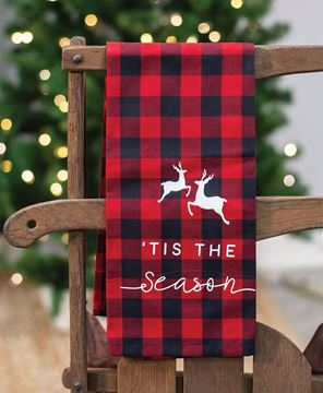 Picture of Red Buffalo Check Tis The Season Towel
