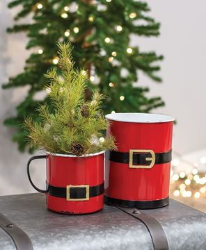 Picture of Santa Suit Mug