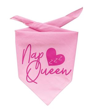 Picture of Nap Queen Doggie Bandana