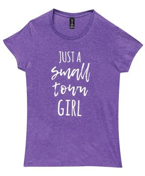 Picture of Small Town Girl Tee, Purple