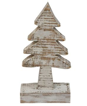 Picture of Distressed Wooden Tree, 6""