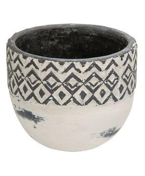 Picture of Geometric Ceramic Bowl