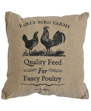 Picture of Fancy Poultry Pillow, 16""