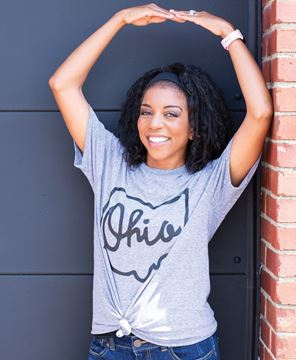 Picture of Ohio Tee - Heather Graphite