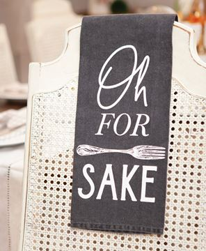 Picture of For Forks Sake Dish Towel