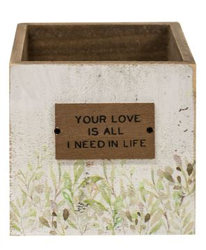 Picture of Your Love Wooden Catch-All Box, 2/Set