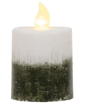 "Picture of Ombre Pillar Candle, 2.5"" x 3.5"""