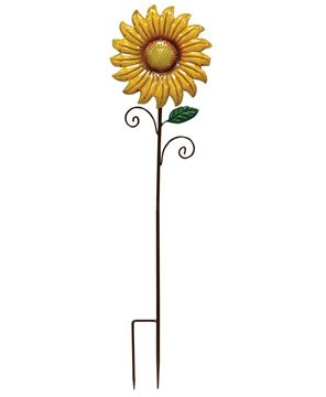Picture of Metal Sunflower Decorative Garden Stake