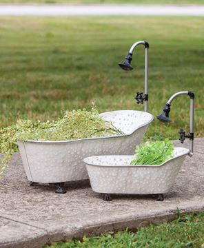 Picture of Vintage Bathtub Planters, 2/Set