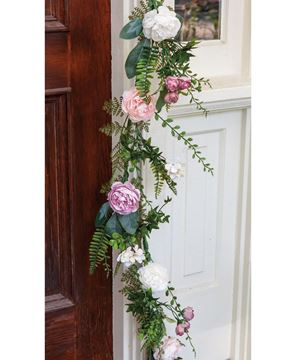 Picture of Spring Peony Garland, 4'