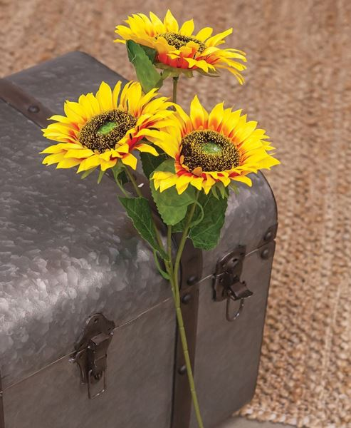 Picture of Bright Yellow Sunflower Spray