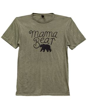 Picture of Mama Bear T-Shirt, Heather City Green