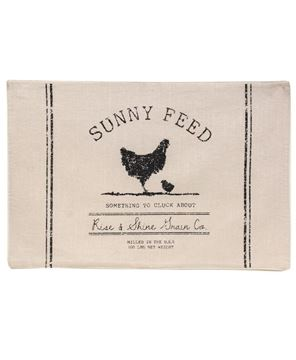 Picture of Sunny Feed Farmhouse Placemat