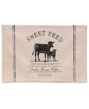Picture of Sweet  Feed Farmhouse Placemat