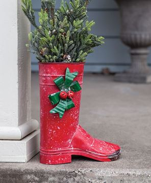Picture of Santa's Red Boot