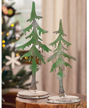 Picture of Small Metal Pine Tree