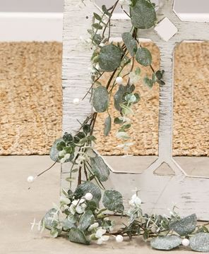 Picture of Glitter Frosted Eucalyptus Garland