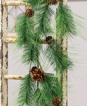 Picture of Pine Garland with Pinecones