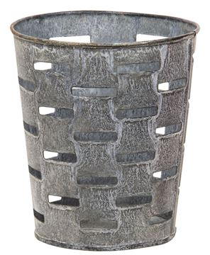 Picture of Galvanized Olive Bucket 5.25""