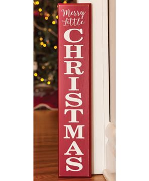 Picture of Merry Little Christmas Sign