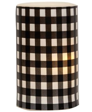 Picture of Black Small Buffalo Check Timer Pillar
