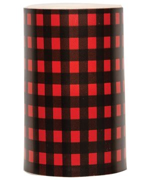 Picture of Red Small Buffalo Check Timer Pillar