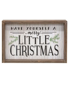 Picture of Have Yourself a Merry Little Christmas Sign
