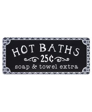 Picture of Hot Baths Sign