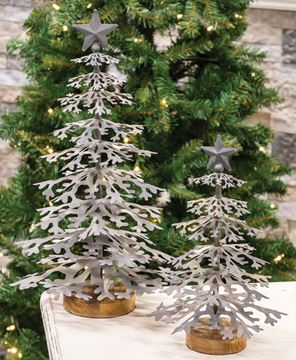 Picture of Galvanized Christmas Tree, Small