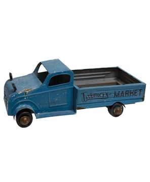 Picture of Blue Metal Farmer's Market Truck
