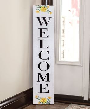 Picture of Spring Florals Welcome Sign