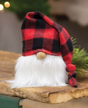 Picture of Red Buffalo Check Cap Gnome, 5.5""