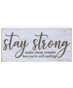 Picture of Stay Strong Blocks, 3/Set