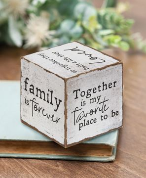 Picture of Family Sentiments Cube