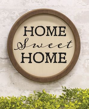 Picture of Home Sweet Home Circle Frame