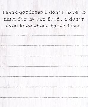Picture of Tacos Mini Notepad