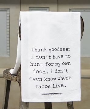 Picture of Tacos Dish Towel