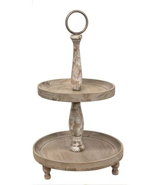 Picture of Weathered Two-Tiered Tray