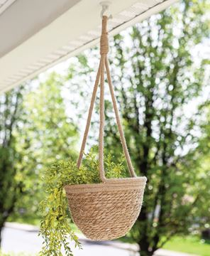 Picture of Jute Hanging Flower Pot Holder, Large