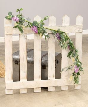 Picture of Purple Wildflowers Garland, 5ft