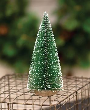 """Picture of Snowy Bottle Brush Tree, 6"""""""