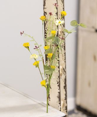 """Picture of Yellow Wildflowers Pick, 14"""""""