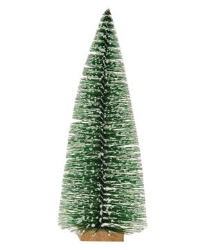 """Picture of Frosty Bottle Brush Tree, 7"""""""
