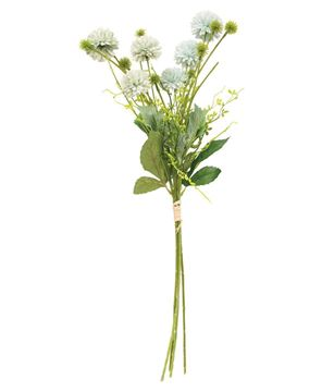 """Picture of Green Wildflower & Thistle Spray, 24"""""""