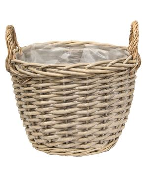 Picture of Greywashed Willow Gathering Baskets, 3/Set
