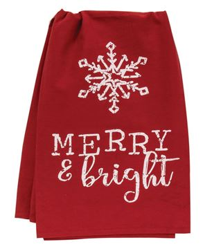 Picture of Merry & Bright Dish Towel