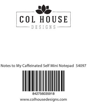 Picture of Notes to My Caffeinated Self Mini Notepad