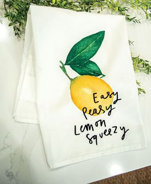 Picture of Easy Peasy Lemon Squeezy Dish Towel