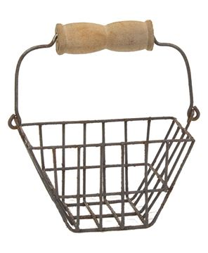 Picture of Mini Wire Egg Basket Tote